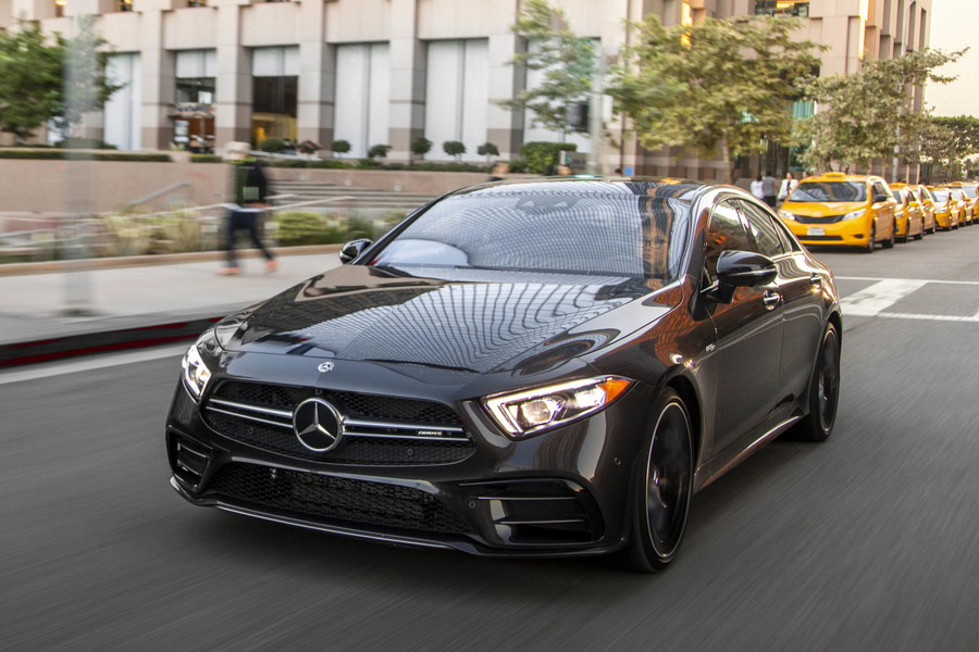 CLS Class 53 AMG Front View