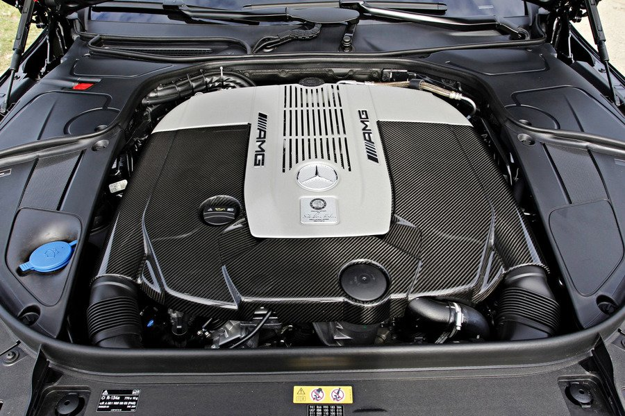 S 65 AMG Coupe Exclusive Carbon Motor Covering for M279