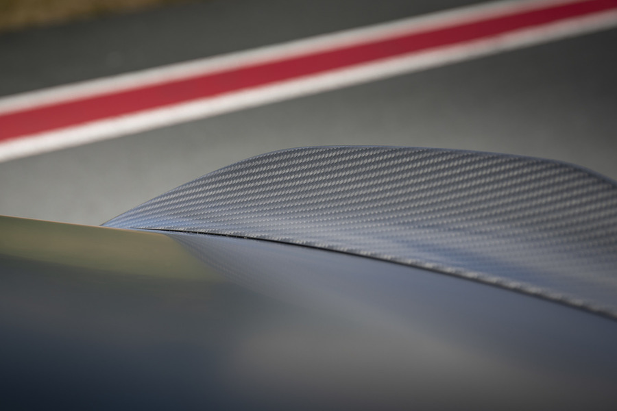 C Class Coupe 63 AMG Aerodynamic Carbon Rear Spoiler Lip