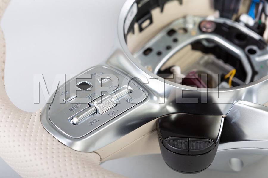AMG Beige Leather Steering Wheel; A0004608413 8U00; AMG GT C190.