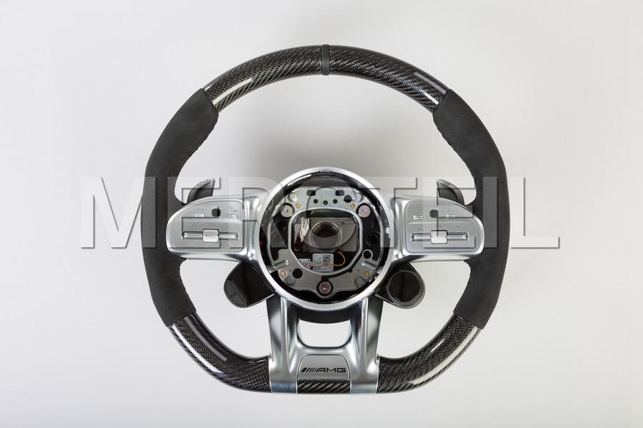 AMG Carbon Steering Wheel Alcantara; A0004605809 9E38.