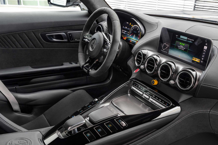 AMG Facelift Carbon-Fiber Interior Kit for AMG GT