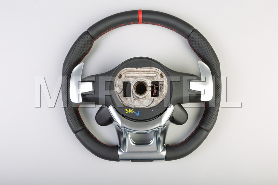 AMG Steering Wheel Red Insertion; A00046099083D27, 0004609908 3D27.