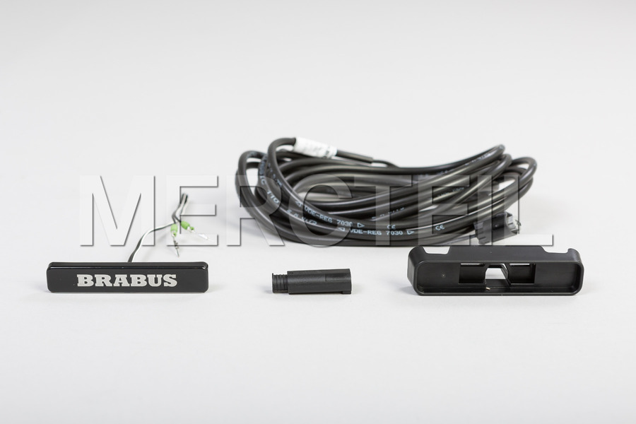 BRABUS Logo Badge For Front Grille for G-Class W463A (part number: 464-290-99)