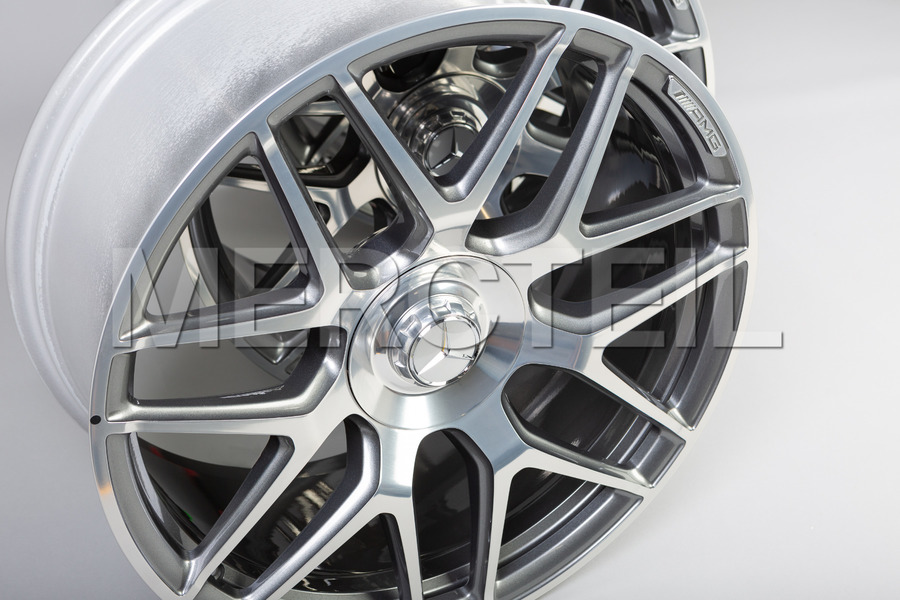 19 Inch AMG 45 Himalaya Grey Forged Rims for CLA Class C118 Part Number A17740124007X21, 1774012400 7X21.