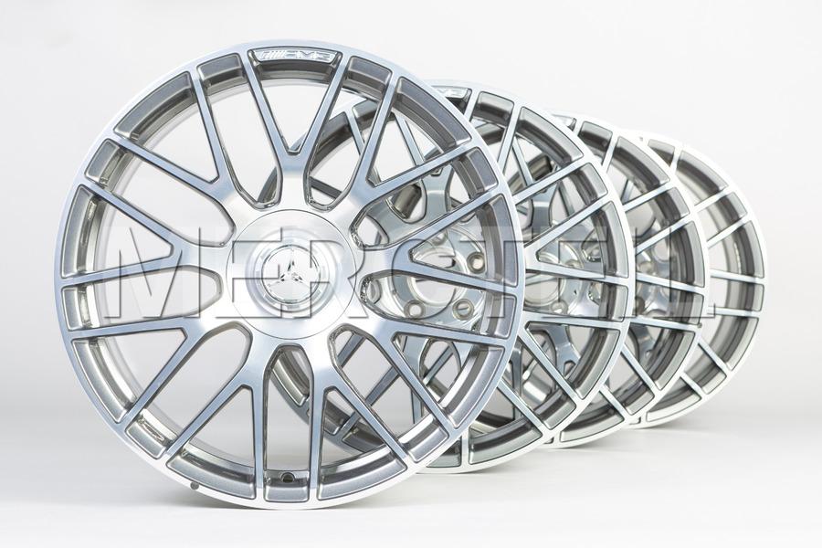 Forged Wheels Himalaya Grey Set for AMG GT C190 A19040107007X21, 1904010700 7X21.