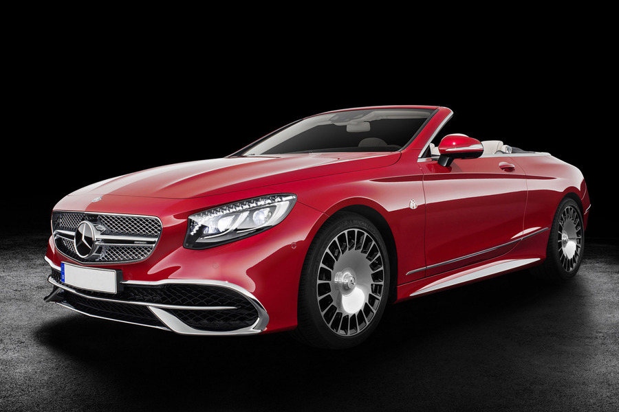 S Class Coupe Maybach R20 Set Of Alloy Wheels