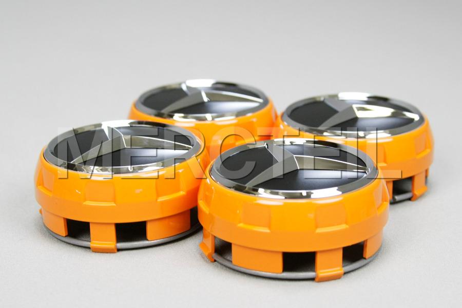 Radnabenabdeckung Satz Edition Orange (Teilenummer:  A00040009002232)